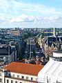 Mannerheimintien alkupäätä Erottajan paloaseman tornista.jpg