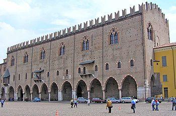 Palazzo Ducale di Mantova.