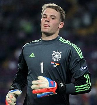 Manuel Neuer - Neuer in action for Germany in their Euro 2012 group stage match against Netherlands on 13 June