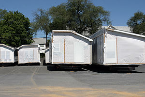 Manufactured home built and ready for shippmen...