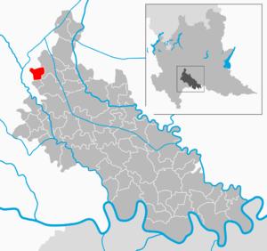 Casalmaiocco - Image: Map IT Lodi Casalmaiocco