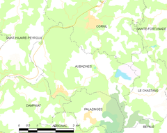 Map commune FR insee code 19013.png