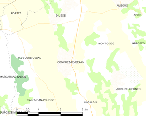 Map commune FR insee code 64192.png