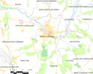 帕赖勒莫尼亚勒市镇地图