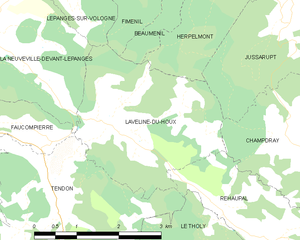 Map commune FR insee code 88263.png