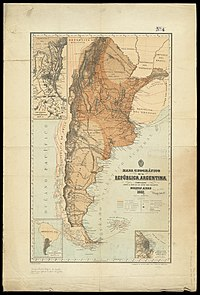 Map of Argentina by Francisco Latzina, 1882.jpg