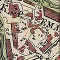 Map of Moscow by Ivan Michurin (1739). Fragment1.jpg