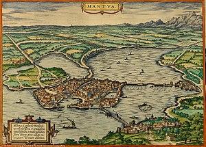 Duchy of Mantua - Duchy of Mantua in 1576;
