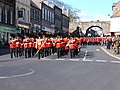 Marching down Marygate, Berwick upon Tweed - geograph.org.uk - 1220396.jpg