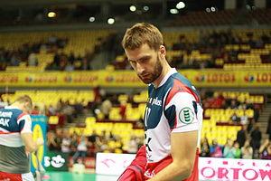 Marcin Możdżonek - Możdżonek as player of ZAKSA Kędzierzyn-Koźle in 2012.