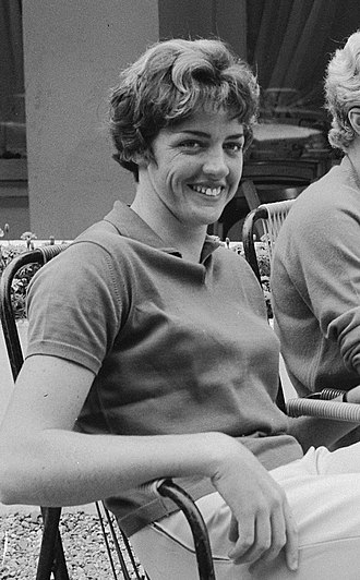 Margaret Court - Court in 1964