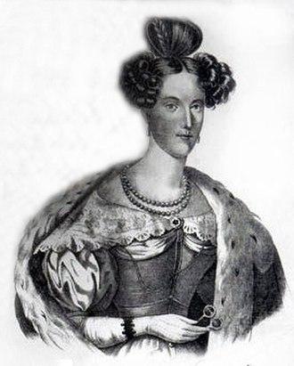 Leopold II, Grand Duke of Tuscany - Maria Anna of Saxony