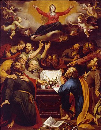 Wouter Crabeth II - The Assumption of the Virgin Mary, 1628 (Catharina Gasthuis (MuseumgoudA), Gouda)