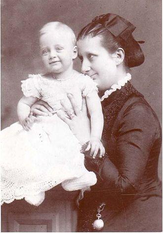 Elias, Duke of Parma - Elias with his mother, Maria Pia