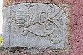 Maria Saal Zollfeld Prunnerkreuz Relief mit Kantharos-Lebensbaummotiv 18102015 8156.jpg