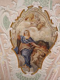 peinture murale, plafond