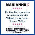 Marianne Williamson campaign call Wed March 27 54463796.jpg