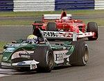 Mark Webber and Rubens Barrichello 2003 Silverstone.jpg