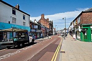 Atherton, Greater Manchester - Image: Market Street, Atherton