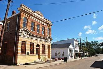 Port Gibson, Mississippi - Market Street-Suburb Ste. Mary Historic District