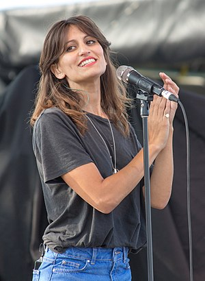 Martina Sorbara - Sorbara performing with Dragonette at the 2013 Festival of Friends