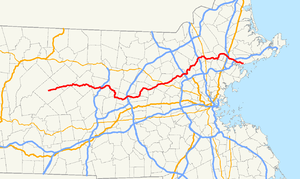Massachusetts Route 62 - Image: Massachusetts Route 62