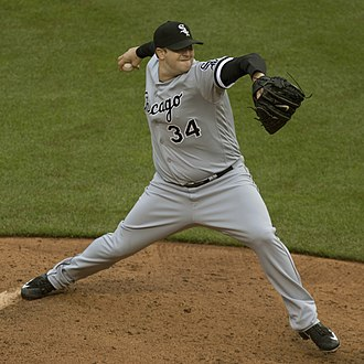 Matt Albers - Albers pitching for the Chicago White Sox in 2016