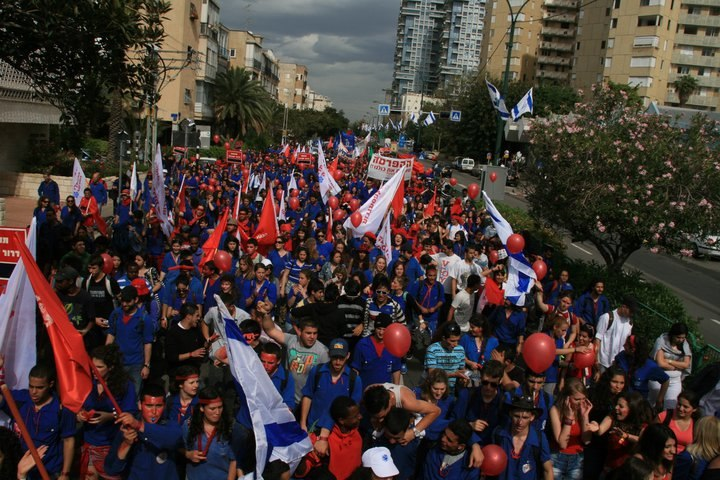 May Day NOV 90 years to Histadrut