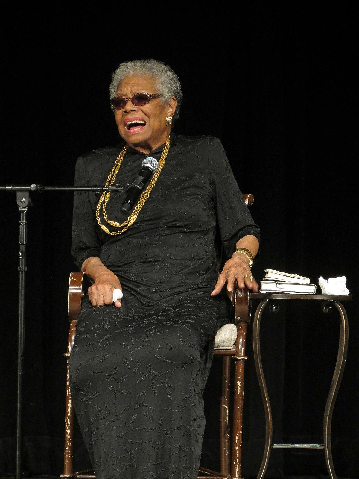 Maya Angelou - Wikiquote