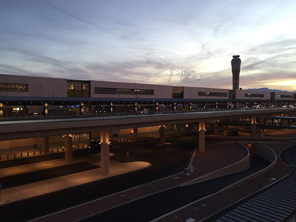 McCarran Airport Terminal 3, Oct 2016