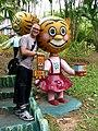 Me with Happy Tiger, Haw Par Villa (Tiger Balm Theme Park), Singapore (41366908).jpg