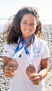 Caterina Stenta Italian windsurfer and Standup paddle athlete