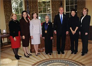 Tina Ramirez - Tina Ramirez received the National Medal of Arts from President George W. Bush in 2005.