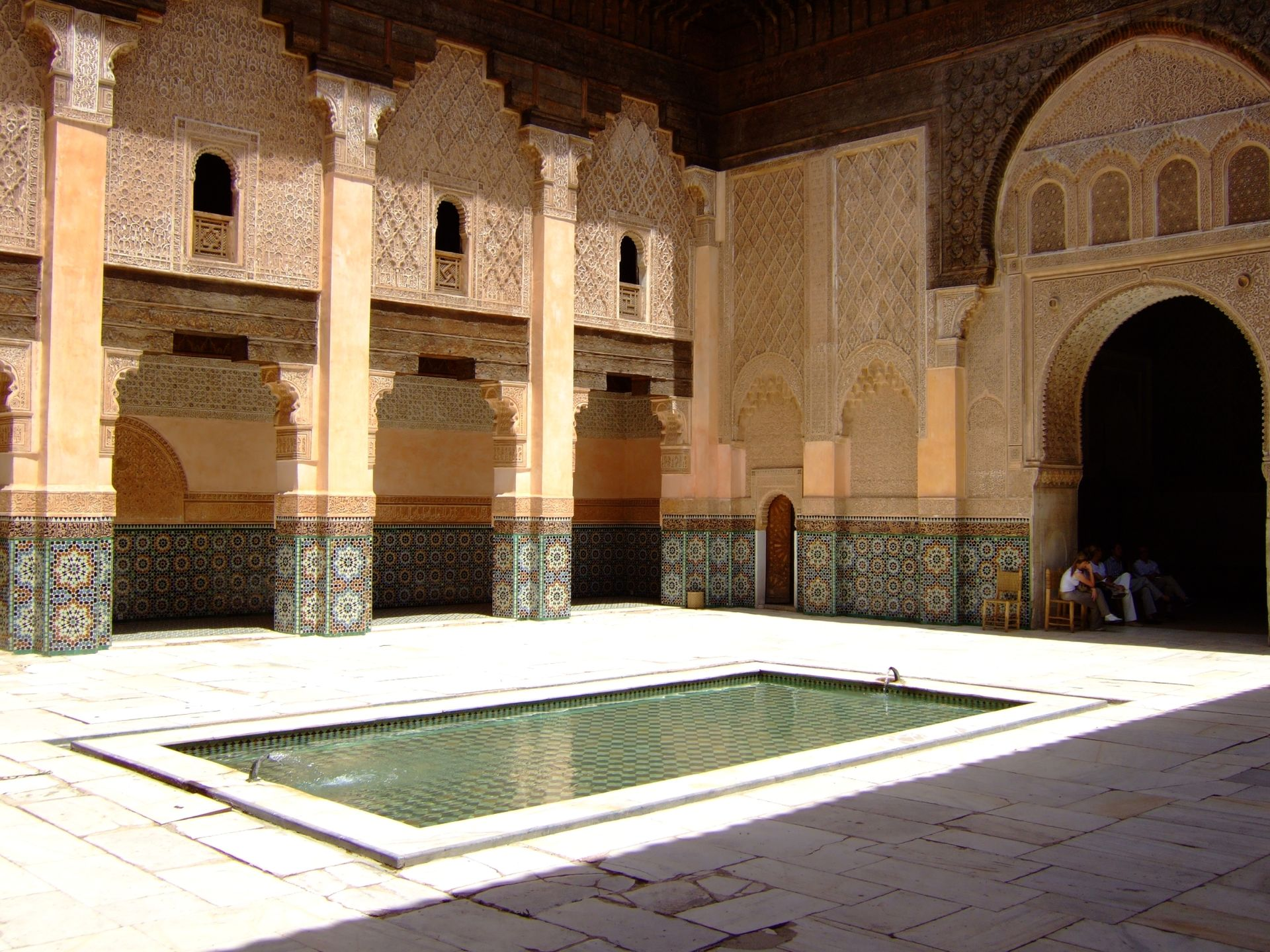 M dersa ben youssef wikip dia - L architecture andalouse ...