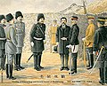 Meeting of General Nogi and General Stessel at Shuishihying 1906.jpg