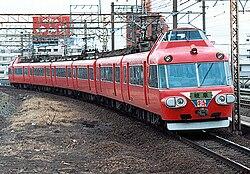 名鉄 7500系特急車