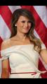 Melania Trump at inauguration ball.png
