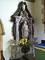 Memorial on the north side of the altar in St. Leonard's Church, Rockingham.jpg