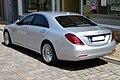 Mercedes-Benz W 222 S 350 Bluetec Heck.JPG