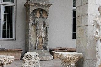 Mersin Museum - Image: Mersin History Museum yard 01