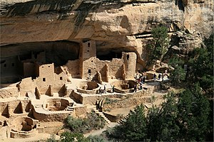 Cliff Palace of Mesa Verde, in Arizona, United...