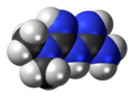 Metformin molecule spacefill.png