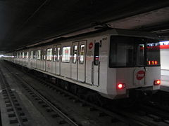 Metro Barcelona train type 4000