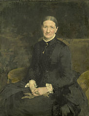Portrait of Mrs. A J Zubli-Maschhaupt