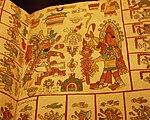 Mexico - Museo de antropologia - Livre (détail).JPG