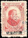 Mexico 1876 documentary revenue 11A Vera Cruz.jpg