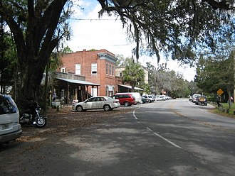 Micanopy, Florida - Micanopy commercial district
