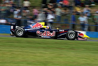 Red Bull Junior Team - Michael Ammermüller racing in the World Series By Renault in 2007.