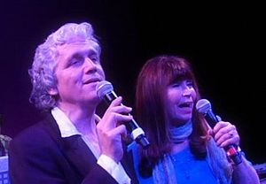 Dick and Dee Dee - Michael Dunn and Dee Dee Phelps performing in 2011