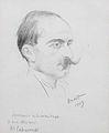 Michel Dimitri Calvocoressi (1877-1944) by Lev Samoilovich Bakst (Leon Bakst) (Russian, 1866-1924).jpg